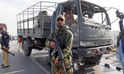 سکیورٹی اداروں نے موٹر وے پر پوزیشنیں سنبھال لی