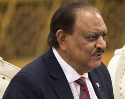 صدر ممنون حسین کا وزرات پانی وبجلی سے شکوہ