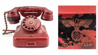 نیلامی میں فروخت ہونے والا ہٹلر کا فون جعلی تھا، برطانوی ماہر