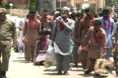 بھارت آج39 پاکستانی قیدیوں کو رہا کریگا