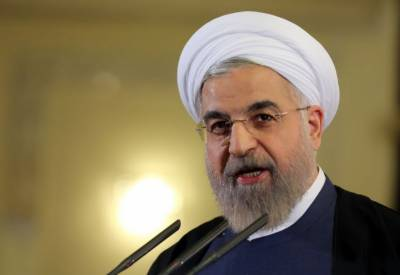 ای سی او سربراہ اجلاس : ایران کے صدر حسن روحانی اسلام آباد پہنچ گئے