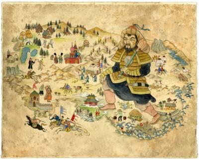 منگول د و ر کی 600سالہ تاریخ کا منگولین زبان میں ترجمہ