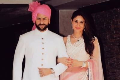 کرینہ کپور اپنے شوہر کی شادی میں بطور مہمان شریک ہوئیں