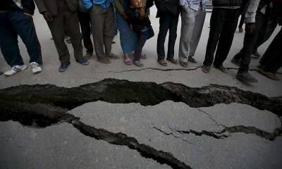 ملک کے مختلف حصوں میں زلزلے کے شدید جھٹکے