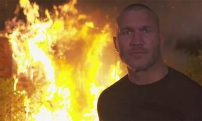 رینڈی اورٹن نے ڈبلیو ڈبلیو ای چیمپئن برے وائیٹ کا ایک گھر جلا کر خاکستر کردیا
