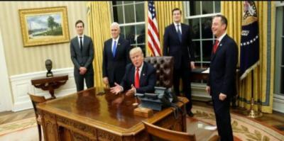 ٹرمپ نے سفری پابندی پر نئے حکم نامے کا اجراء پھر مؤخر