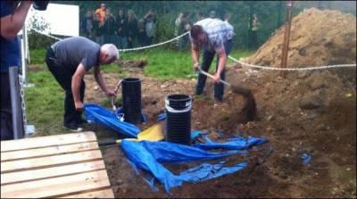 شمالی آئرلینڈ میں عمر رسیدہ شخص کو زندہ دفن کر دیاگیا