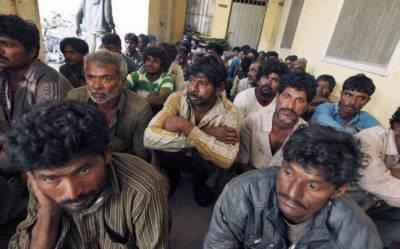 بھارت سے رہائی پانے والے 38افرادکو ایدھی سینٹر منتقل کردیاگیا