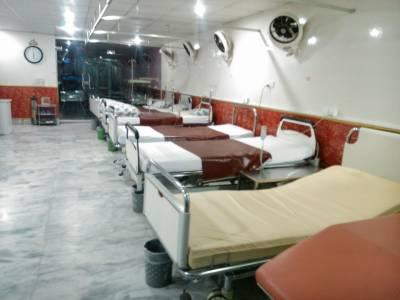 جنرل ہسپتال کا 25بستروں پر مشتمل عارضی ہسپتال آج سے پیر تک قذافی اسٹیڈیم میں فنکشنل رہے گا