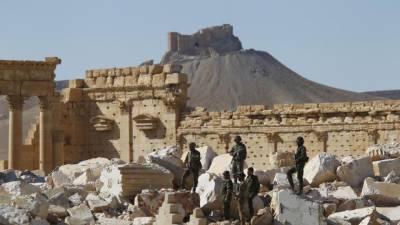 شامی فوج نے پلمیرہ شہر کا دوبارہ کنٹرول حاصل کر لیا