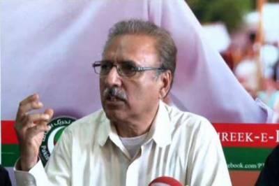 پشتون پاکستانیوں کو گرفتار کر کے ایک بار پھر لسانیت کو ہوا دی جا رہی ہے،ڈاکٹر عارف علوی
