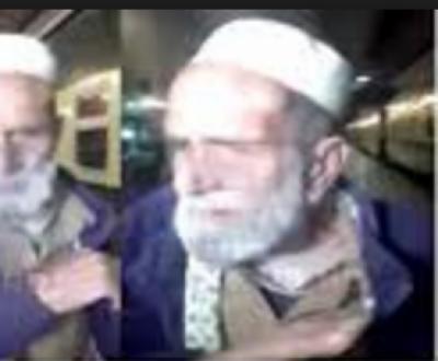 شیخ رشید کو جوتا مارنے والے بزرگ نے وجہ بتادی