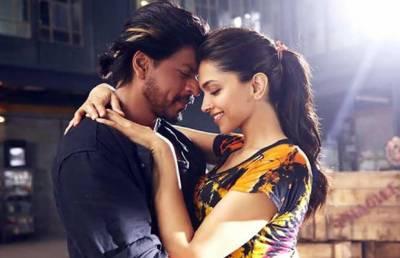 کنگ شاہ رخ خان اور دپیکا پڈوکون نے بالی ووڈ میں سب کو پیچھے چھوڑ دیا