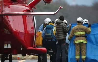 جاپان: ہیلی کاپٹر گر کر تباہ ، 9 افراد ہلاک