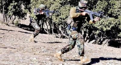 فورسز کا صوابی ملک کے علاقے میں آپریشن، دوجوان شہید