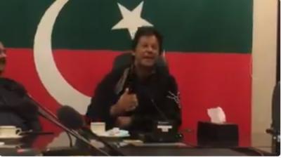عمران خان نے پی ایس ایل کےغیر ملکی کھلاڑیوں کو