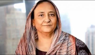 عبدالستار ایدھی کی اہلیہ بلقیس ایدھی کی طبیعت ناساز ، ہسپتال منتقل