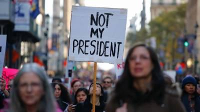 امریکا،خواتین کے عالمی دن کے موقع پر ڈونلڈ ٹرمپ کے خلاف مظاہرے