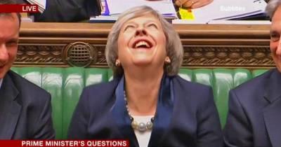 برطانوی وزیراعظم کی ہنسی کی وڈیوسوشل میڈیا پر وائرل