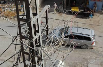 بلوچستان میں کیسکو نے لوگوں کو بجلی کی لٹکتی تاروں کے رحم و کرم پر چھوڑ دیا
