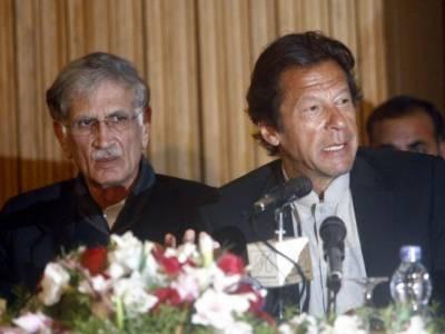 پشاور زلمی کیلئے انعام کا اعلان، عمران خان نے پرویز خٹک سے وضاحت مانگ لی
