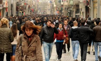 ترکی کی آبادی میں مردوں کا تناسب خواتین سے بڑھ گیا
