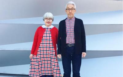 جاپان میں ایک عمررسیدہ جوڑا گزشتہ 37 برس سے میچنگ لباس پہن رہا ہے