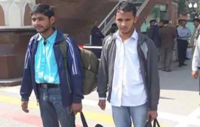 اڑی حملے میں گرفتار دونوں پاکستانی طالبعلم پاکستان پہنچ گئے