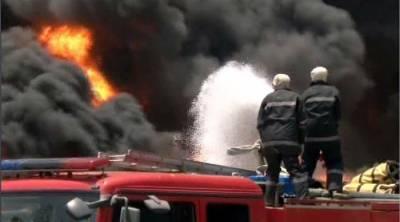 لانڈھی میں واقع فیکٹری میں آگ بھڑک اٹھی