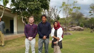 عمران خان کی نیو نیوز کی رپورٹر عفت حسن رضوی سے ملاقات
