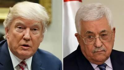 ٹرمپ کی فلسطینی ہم منصب کو وائٹ ہاؤس آنے کی دعوت، ترجمان