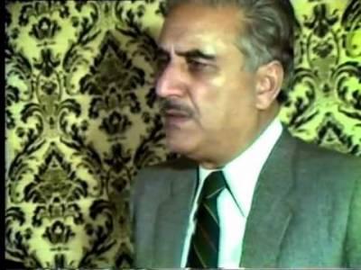 کشمیر کی جدوجہد آزادی کے بزرگ رہنما کے ایچ خورشید کی آج29ویں برسی منائی جارہی ہے