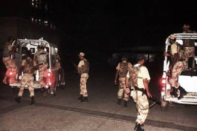 کراچی : رینجرز کی کارروائی، 5 مشتبہ افراد گرفتار