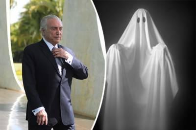 برازیلی صدر نے بھوتوں کی وجہ سے سرکاری محل خالی کردیا