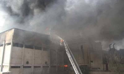 کراچی: لانڈھی فیکٹری میں لگنے والی آگ کی ابتدائی رپورٹ جاری