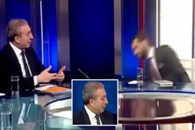 ٹی وی چینل میں براہ راست انٹرویو کے دوران اینکر بے ہوش