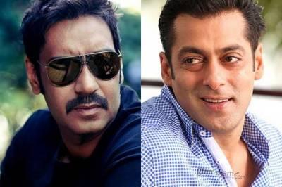سلمان خان نے قریبی دوست اجے دیوگن کی ناراضی ختم کرنے کے لیے فلم پروڈیوس کرنے کا فیصلہ واپس لے لیا