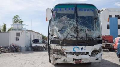 ہیٹی : ڈرائیور نے ہجوم پر بس چڑھادی،38افراد ہلاک