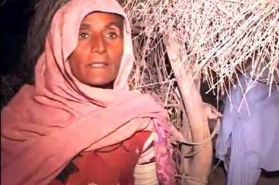 تھرپارکر :وڈیرے کی قید میں زنجیروں سے بندھی خاتون بازیاب