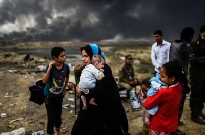 عراقی شہر موصل میں جاری جنگ سے لاکھوں لوگ متاثر