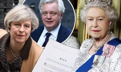 ملکہ برطانیہ نے بریگزٹ کی راہ ہموار کرنے کیلئے آرٹیکل 50 پر دستخط کر کر دیئے