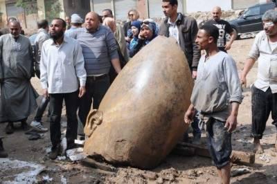 مصر سے ملنے والا مجمسہ فرعون رعمسیس دوم کا نہیں