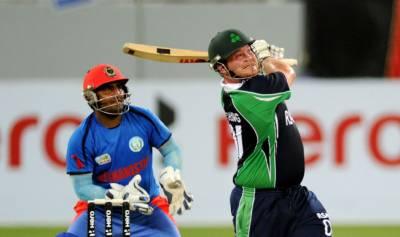 دوسرے ون ڈے میں افغانستان نے آئرلینڈ کو 34رنز سے شکست دیدی