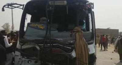 دریا خان: المناک ٹریفک حادثہ، 7 افراد جاں بحق، 8 زخمی