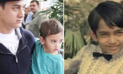 بالی ووڈ میں بھی اکثر جوڑے ایسے ہیں، جن کے بچے بالکل ان کے بچپن کا عکس معلوم ہوتے ہیں