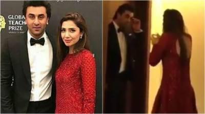 ماہرہ خان کی رنبیرکپورسے معافی مانگنے کی ویڈیو بھارت اور پاکستان میں وائرل ہو گئی