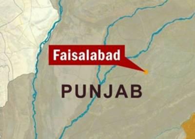 فیصل آباد' کار اور مسافر وین کے تصادم میں جاں بحق افراد کی تعداد 6ہوگئی