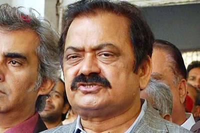 پنجاب کے منصوبوں میں کرپشن ثابت ہو توسیاست چھوڑدوں گا، رانا ثناءاللہ