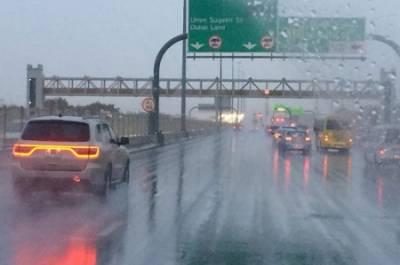 متحدہ عرب امارات میں طوفانی بارشیں، نظام زندگی درہم برہم