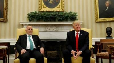 امریکا عراق کا ساتھ کبھی نہیں چھوڑے گا ، ٹرمپ کی یقین دہانی